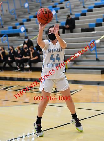 2-10-2021 - Estrella Foothills v Moon Valley - Girls Basketball