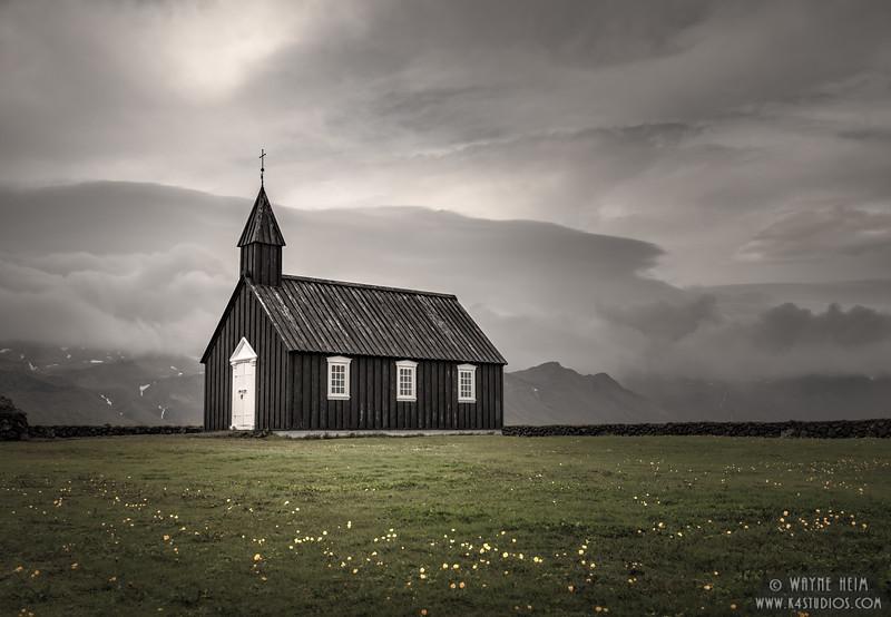 Little Black Church   Photography by Wayne Heim