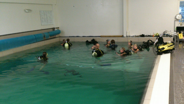 Dykking på Nemo med Ungdoms- og Juniorgruppene
