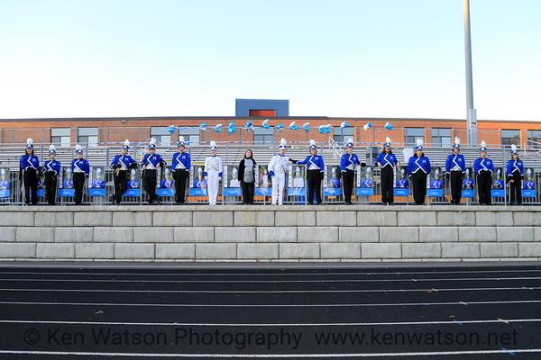 2019-11-01 Merrimack High School Marching Band Senior Night