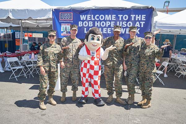 Bob Hope USO- Fleet Week Day One