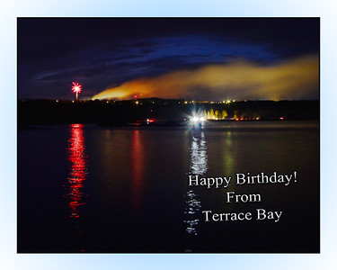 Terrace Bay, Superior Fireworks