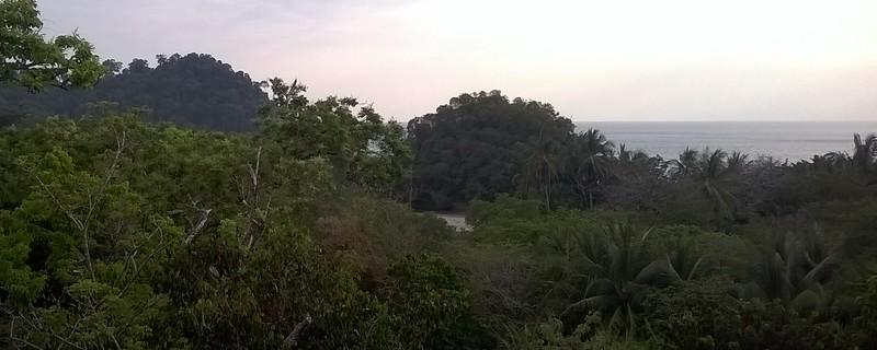 Looking towards Manuel Antonio National Park.
