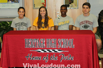 Heritage College Signing: May 2012