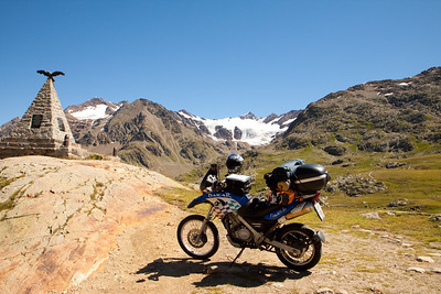 Motorbiking in South Tyrol 2009