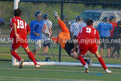 Soccer, Boys H.S. Varsity, St. John the Baptist vs Syosset (09-07-07)