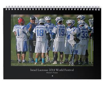 2015 Israel Lacrosse Masters Calendar #2