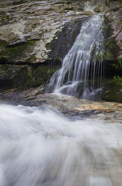 Upper and Crabtree Falls