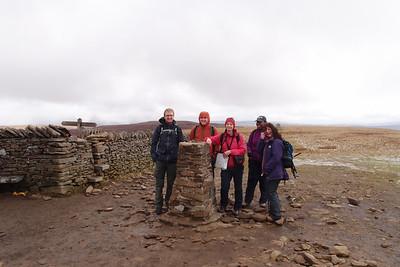 Yorkshire 3 Peaks - 2013