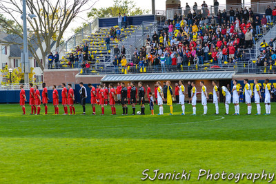 Best Photos From UM Men's Soccer Vs OSU 9-30-12