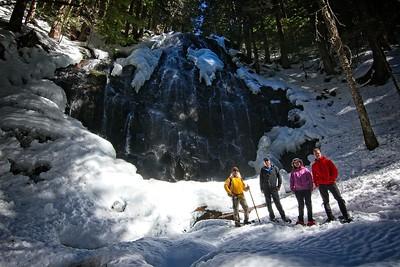 Ramona Falls Snowshoe - 2019/03/17