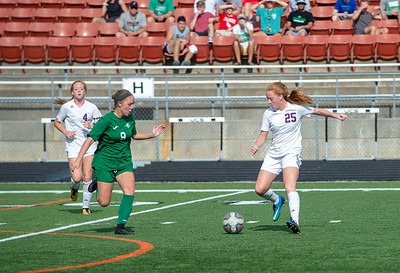 2018 Girls District Soccer Championship Kearney vs Smithville