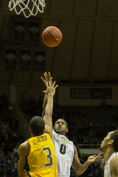 Terone Johnson scores his 1000th point for Purdue against Siena