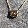 'For You I Live' 18kt Rose Gold Cast Rebus Pendant, by Seal & Scribe 16