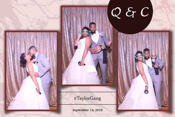 #TAYLORGANG WEDDING