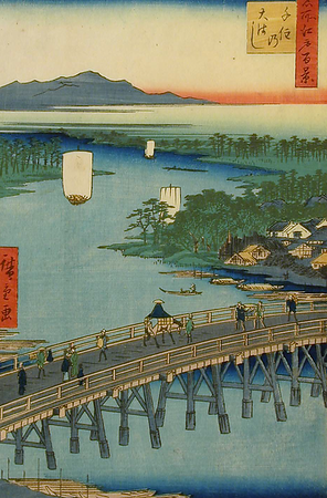 Landscapes of Edo Ukiyo-e Prints from the AGGV Collection