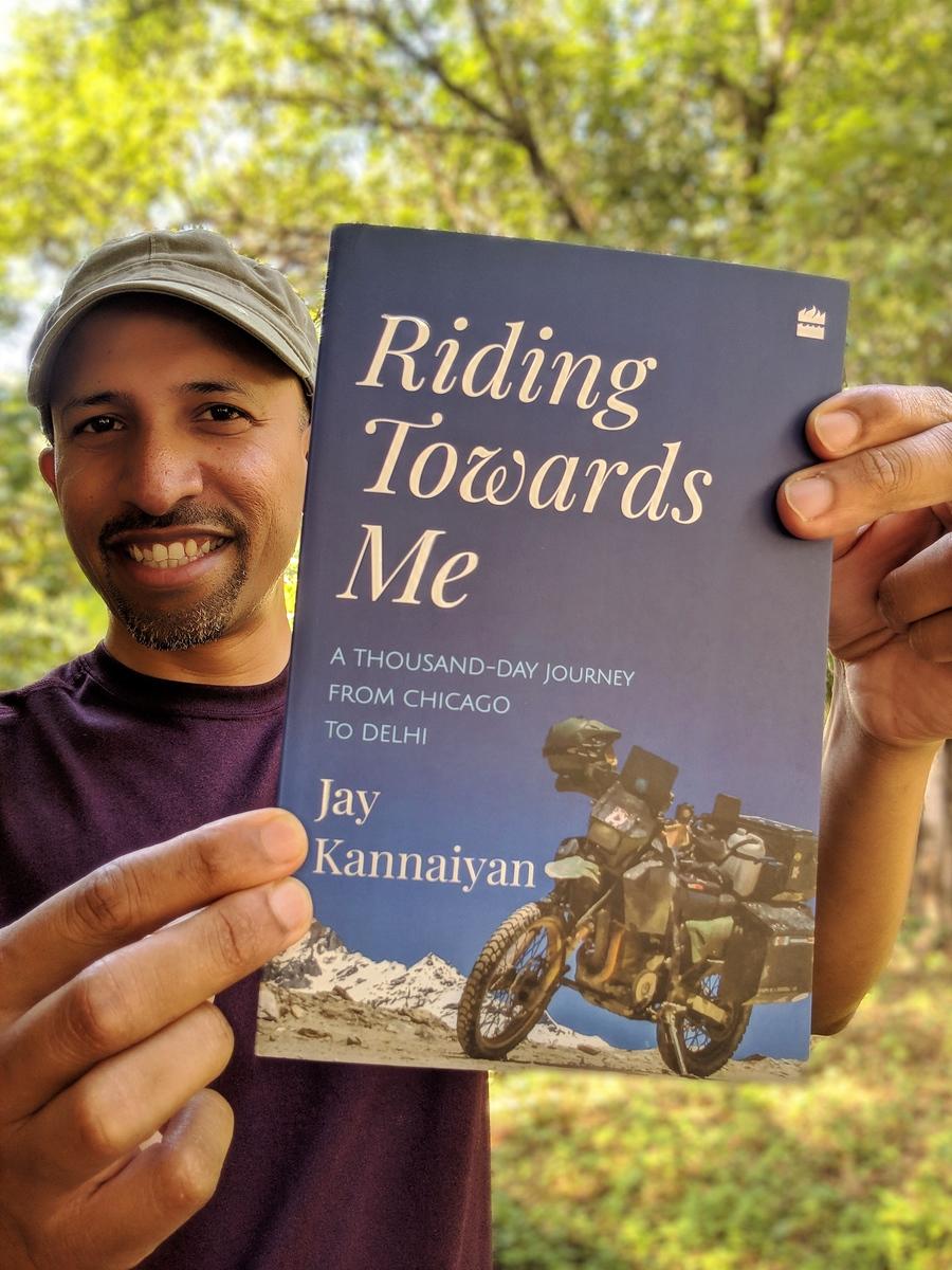 Riding Towards Me by Jay Kannaiyan