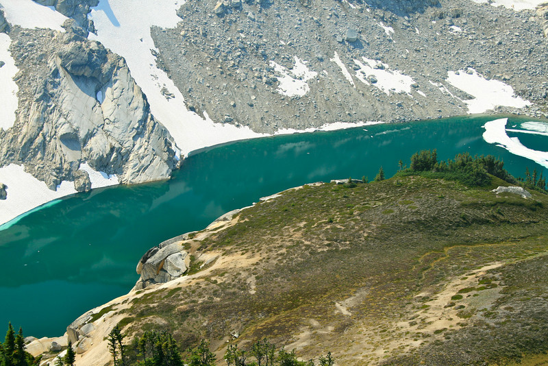 Gorgeous Triad Lake.