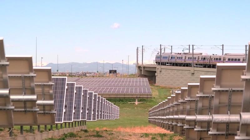 Solar Panel Field b-roll