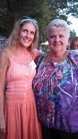2013 Cecchetti Teacher's Seminar - Miss Jean and I at reception