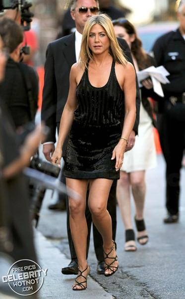 Jennifer Aniston Wears A Little Black Dress To Horrible Bosses Premiere, LA