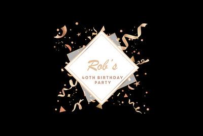 2020-01-11 Rob's 40th Birthday Party