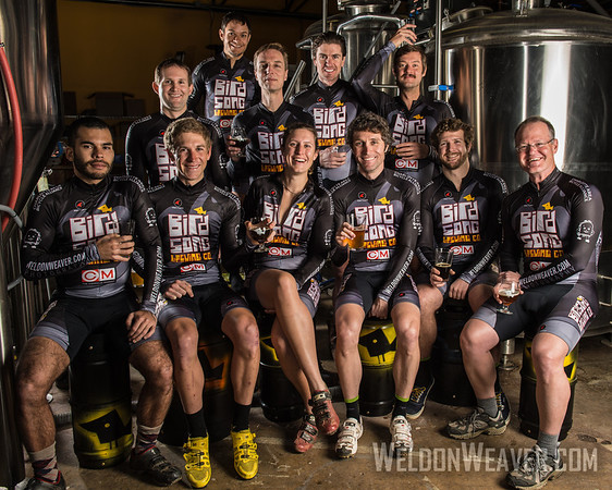 2012-2013 Birdson Brewery Cyclocross Team Portrait