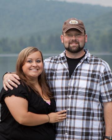 Breanne & Randy: Engagement Session at Allegany State Park