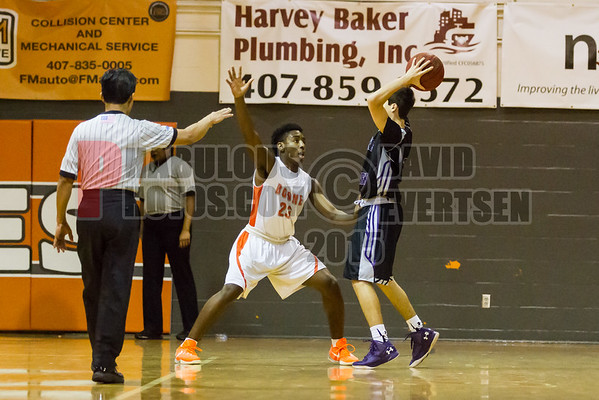 Boone Boys Varsity Basketball #23 - 2015