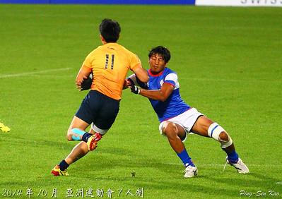 2014亞運七人制7/8名名次賽-台灣VS泰國(TWN vs THA)