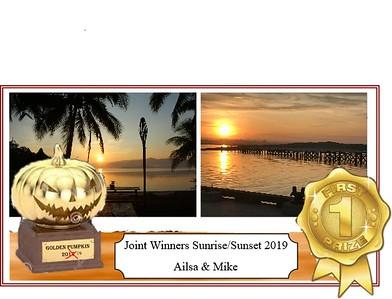 Sunrise - Sunsets July '19