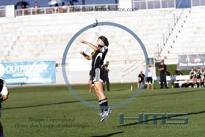 Mililani Girls Soccer - PC 2-7-14