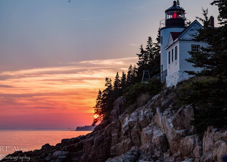 Bass Harbor Light Sunset 8375.jpg