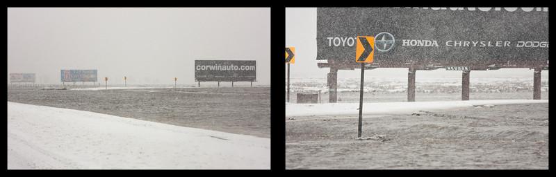 Flood Billboards Diptych