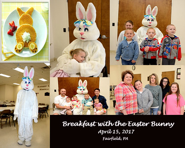 Breakfast with Easter Bunny 2017
