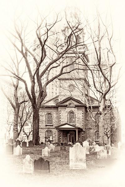 NYC St Paul's Chapel
