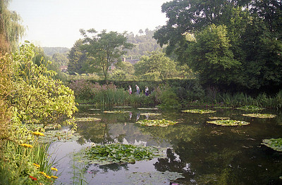 Monet's garden in Giverney in early August 1992