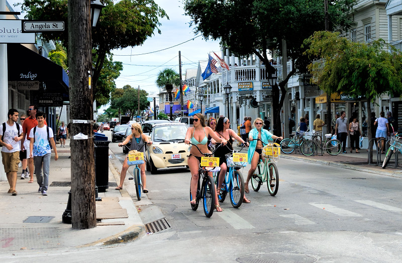 Riding in Key West, Florida  (80247)