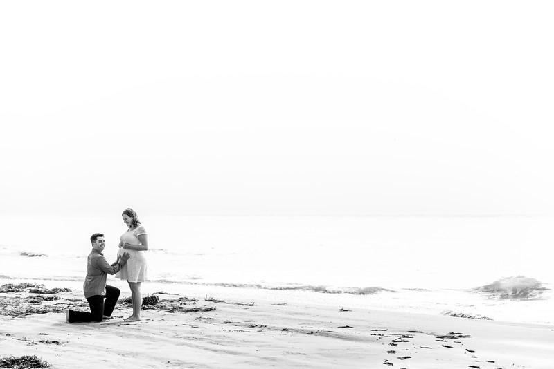 Nikki + Glenn (Maternity Photography) @ Capitola Beach,