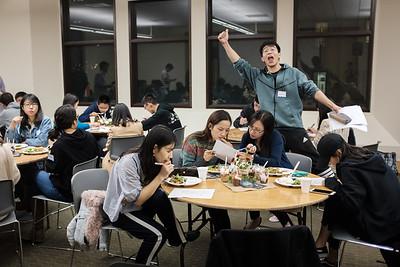 2017-12-01 IUSM Exchange Student Farewell Bible Study