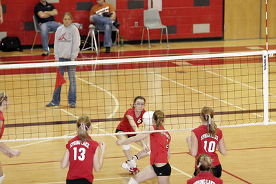 Girls Junior Varsity Volleyball - 2006-2007 - 1/25/2007 Spring Lake