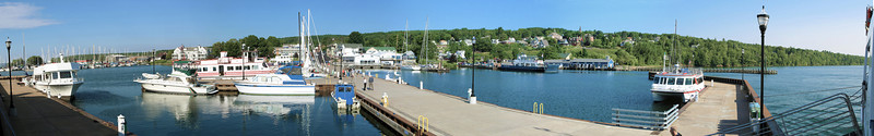 Bayfield as seen from our moorage there.