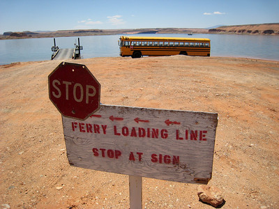 Capitol Reef to Canyonlands (ferry across Lake Powell): May 11, 2007
