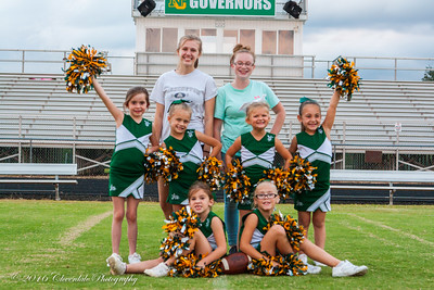 Nelson County Cheer Squad - Midgets