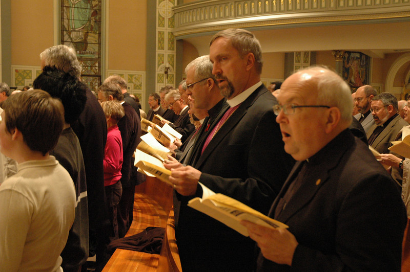 The Conference of Bishops of the Evangelical Lutheran Church in America participated in the Oct. 1 JDDJ celebration in Chicago.