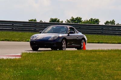 2020 SCCA TNiA June Pitt Race Blue 911 Conv