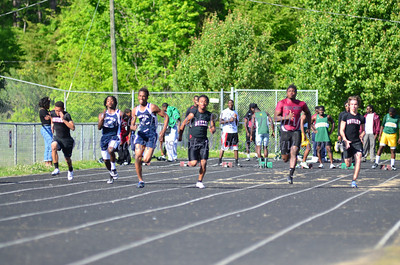 2012-04-11 BHS Track VS Independence, East Meck, West Meck