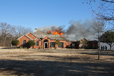 McKinney, Tx. Easy St. residential structure fire