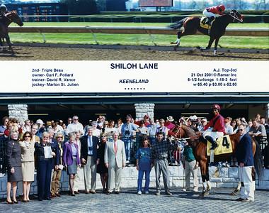 SHILOH LANE - 10/21/2001