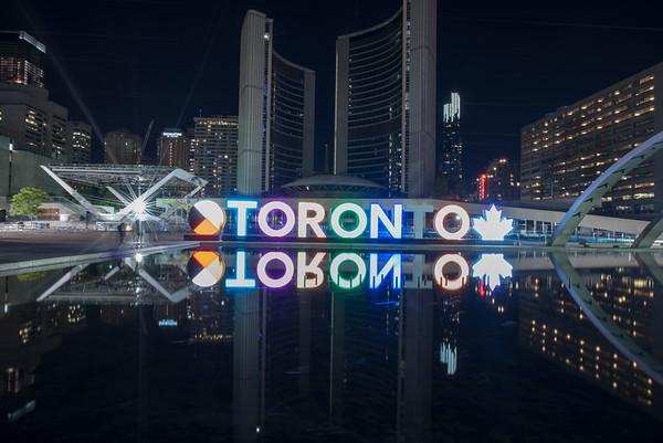 Toronto and Ottowa